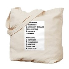 What is a Social Worker? Tote Bag