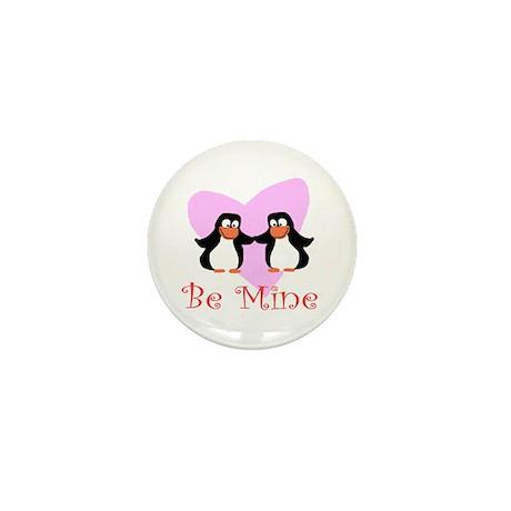 Be Mine Penguin Mini Button (10 pack)