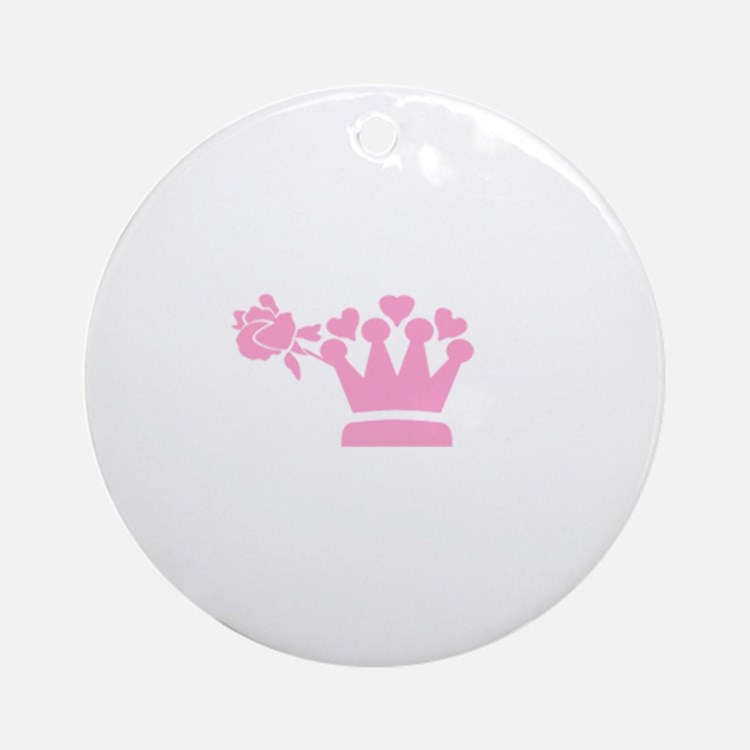 A girl from Pasadena image Ornament (Round)