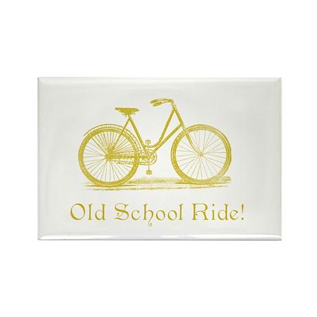 Vintage Bike Rectangle Magnet