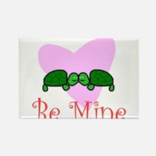 Be Mine Turtle Rectangle Magnet