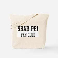 Shar Pei Fan Club Tote Bag