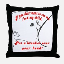 Put a blanket over YOUR head! Breastfeeding  Throw