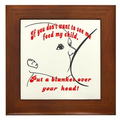 Put a blanket over YOUR head! Breastfeeding Frame