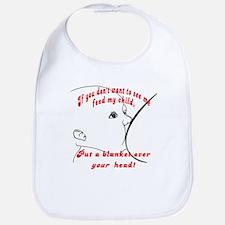 Put a blanket over YOUR head! Breastfeeding  Bib