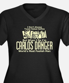 Carlos Danger Plus Size T-Shirt