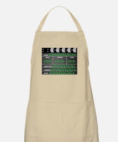 Movie slate Apron
