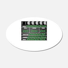 Movie slate Wall Decal