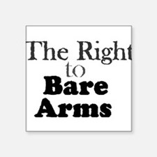 Right to Bare Arms Sticker