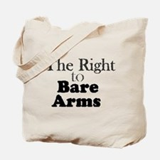 Right to Bare Arms Tote Bag