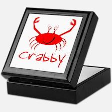 Crabby Crab Keepsake Box
