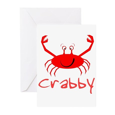Crabby Crab Greeting Cards (Pk of 10)
