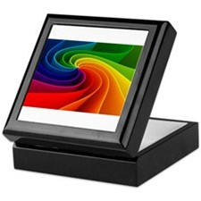 rainbow Keepsake Box