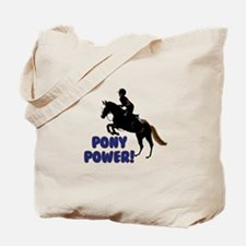 Cute Pony Power Equestrian Tote Bag