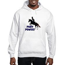 Cute Pony Power Equestrian Hoodie