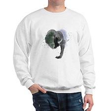 An Elephant never Forgets... TO PAINT! Sweatshirt