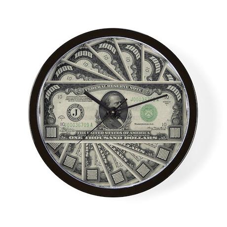 $7000 Wall Clock