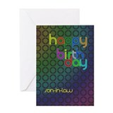 Son in law birthday Greeting Cards
