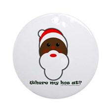 Ho Ho Ho! Ornament (Round)