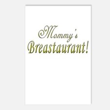 Mommy's Breastaurant! Postcards (Package of 8)