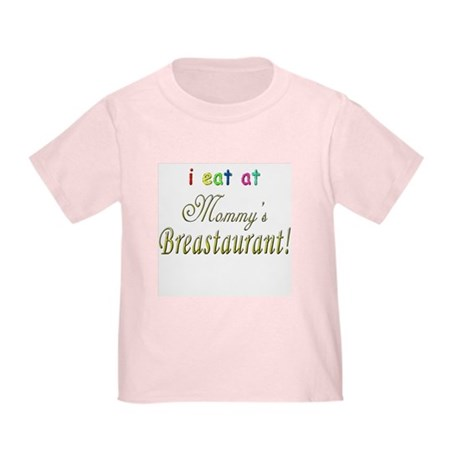 Mommy's Restaurant! (2-Sided) Toddler T-Shi