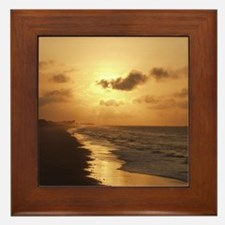 Sunrise, Topsail Framed Tile
