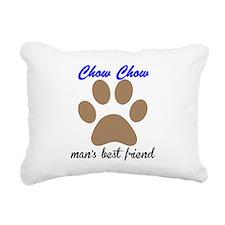 Chow Chow Mans Best Friend Rectangular Canvas Pill