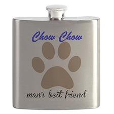 Chow Chow Mans Best Friend Flask