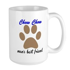 Chow Chow Mans Best Friend Mug