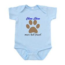 Chow Chow Mans Best Friend Body Suit