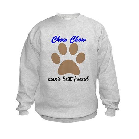 Chow Chow Mans Best Friend Sweatshirt