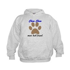 Chow Chow Mans Best Friend Hoody