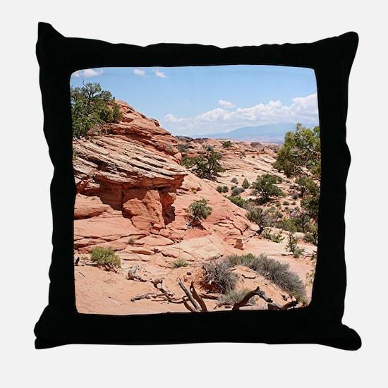 Canyonlands National Park, Utah, USA Throw Pillow