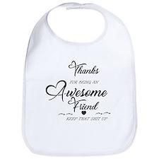Bichon Frise Mans Best Friend Shoulder Bag