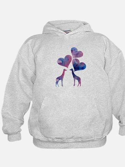 Giraffe Art Sweatshirt