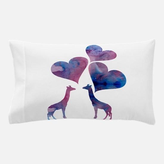 Giraffe Art Pillow Case