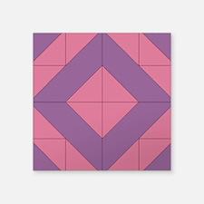 "Mosaic Quilt Square Square Sticker 3"" x 3"""