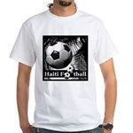 Haiti Football White T-Shirt