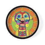 SERIES G:Tribal Mask Wall Clock