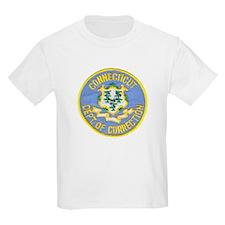 Connecticut Correction Kids T-Shirt