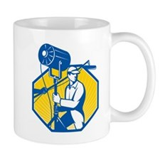 Electrical Lighting Technician Crew Spotlight Mug