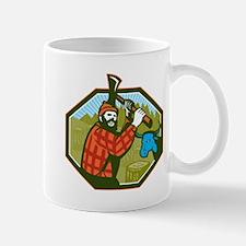 Paul Bunyan LumberJack Axe Blue Ox Mug