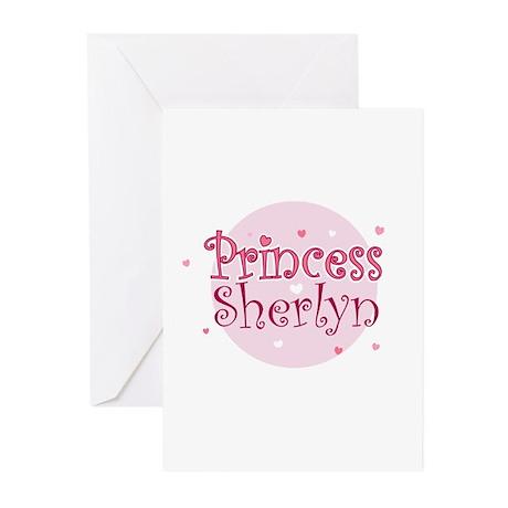 sherlyn name. sherlyn greeting cards (pk of 10) name