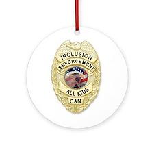 Inclusion Patrol Ornament (Round)