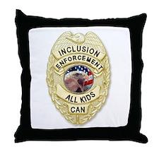 Inclusion Patrol Throw Pillow