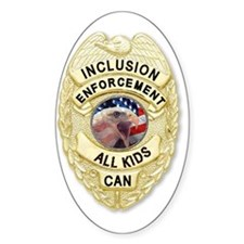 Inclusion Patrol Oval Decal