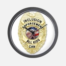 Inclusion Patrol Wall Clock