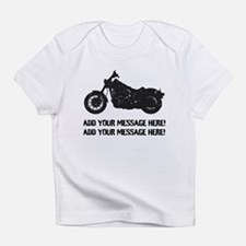 Personalize It, Motorcycle Infant T-Shirt