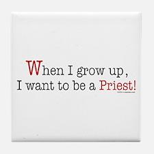... a Priest Tile Coaster