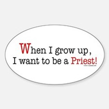 ... a Priest Oval Decal